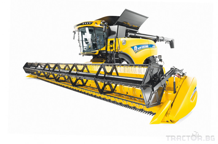 Комбайни New Holland CR 0 - Трактор БГ