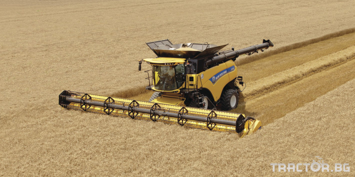 Комбайни New Holland CR 6 - Трактор БГ