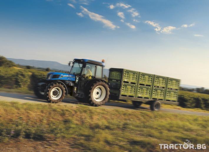 Трактори New Holland Т F/N/V 8 - Трактор БГ