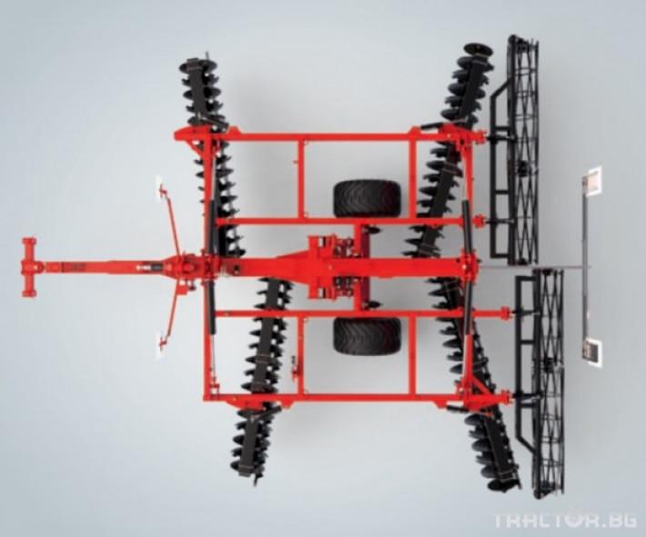 Брани Дискова брана Gregoire Besson XL, х-образна 3 - Трактор БГ