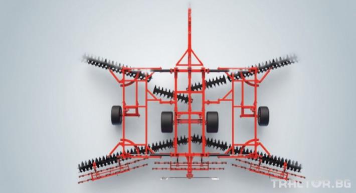 Брани Дискова брана Gregoire Besson XL, х-образна 2 - Трактор БГ