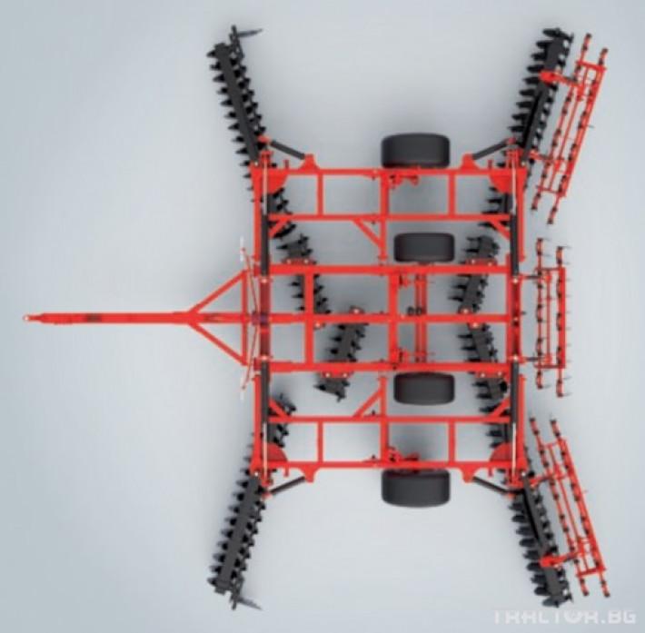 Брани Дискова брана Gregoire Besson XL, х-образна 4 - Трактор БГ