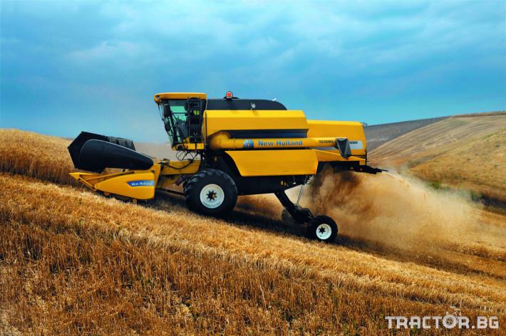 Комбайни New Holland TC 3 - Трактор БГ