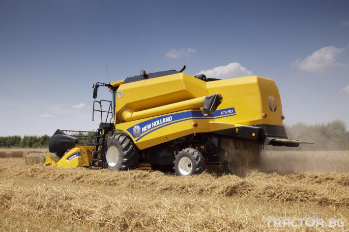 Комбайни New Holland TC 13 - Трактор БГ