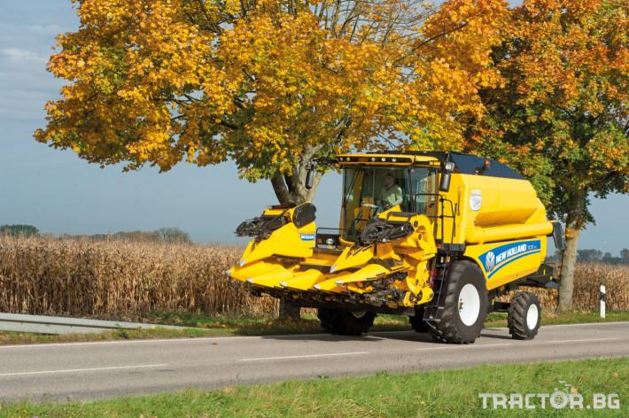 Комбайни New Holland TC 16 - Трактор БГ