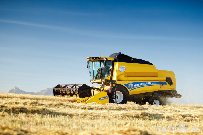 Комбайни New Holland TC 20 - Трактор БГ