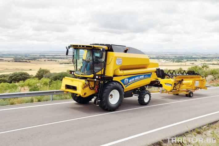 Комбайни New Holland TC 24 - Трактор БГ