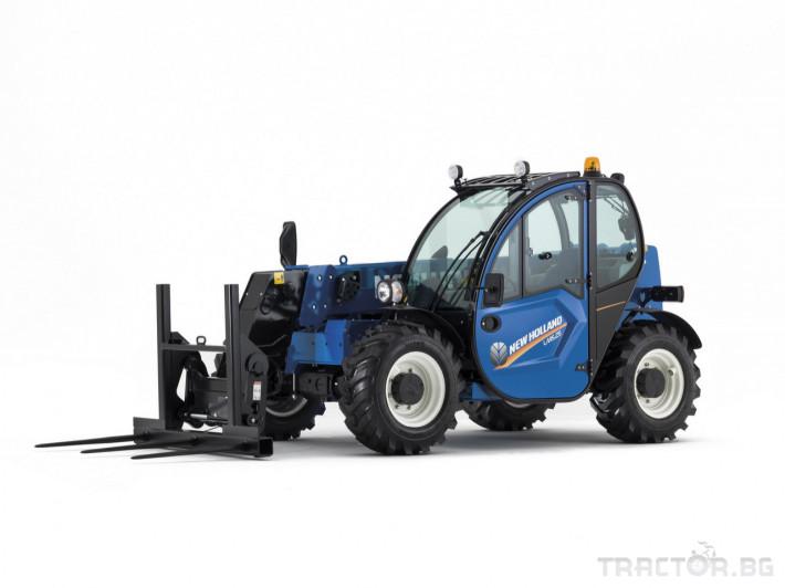 Телескопични товарачи NEW HOLLAND LM 4 - Трактор БГ