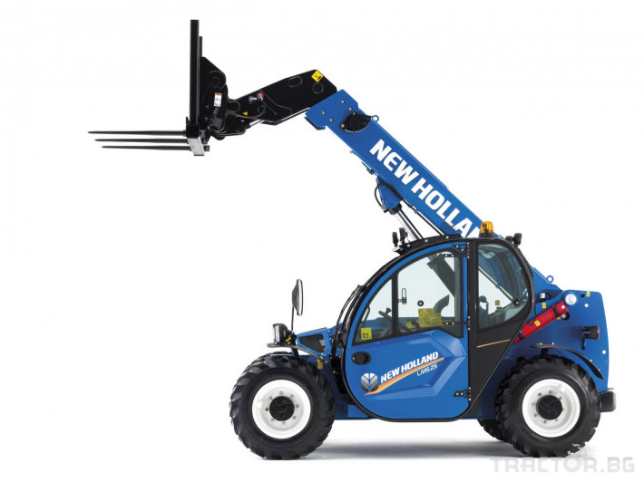 Телескопични товарачи NEW HOLLAND LM 7 - Трактор БГ