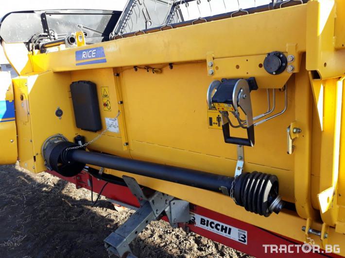 Хедери за жътва Хедер за ориз New Holland 6. 10м RICE НСАР 6 - Трактор БГ