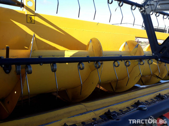 Хедери за жътва Хедер за ориз New Holland 6. 10м RICE НСАР 10 - Трактор БГ
