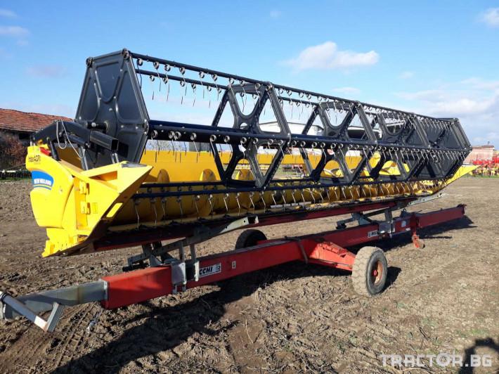 Хедери за жътва Хедер за ориз New Holland 6. 10м RICE НСАР 11 - Трактор БГ